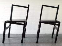 La sedia storta e' piu' solida