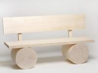 'Holzbank': una classica nuova panca di legno