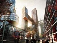 Big Architects firma il progetto delle Cross Towers di Seoul