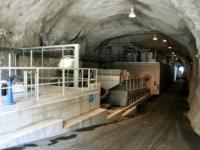 Il primo impianto di depurazione in galleria