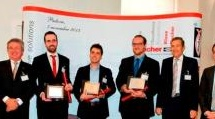 Varie: I vincitori del  - Va a 3 laureati dell'Universita' di ingegneria di Padova la prima edizione del premio che promuove la formazione, la ricerca e l'innovazione