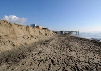 Le coste del Mediterraneo sermpre piu' a rischio erosione