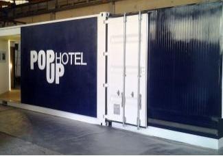 Al Saie 2014 l'Hotel PopUp fatto con i container riciclati